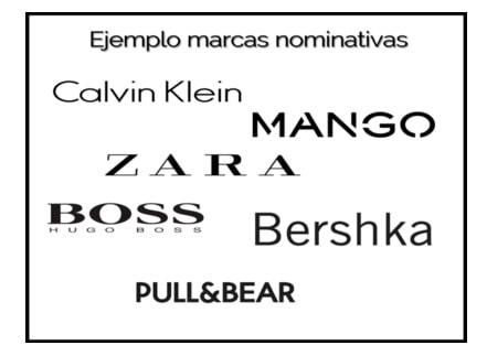 marcas denominativas