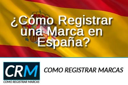 registrar marca España