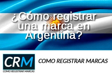 como regsitrar una marca en Argentina