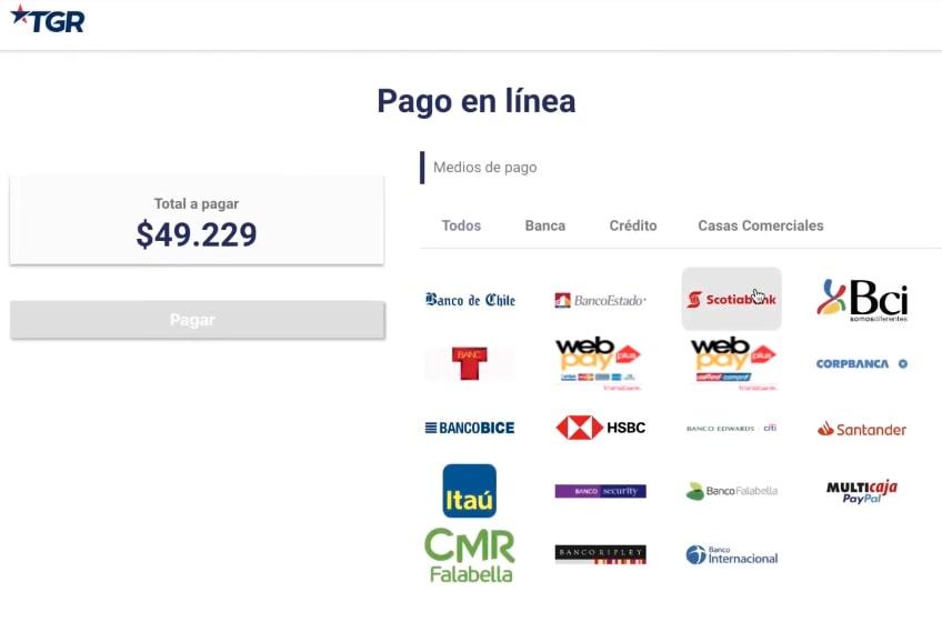 cuanto cuesta registrar marca en Chile
