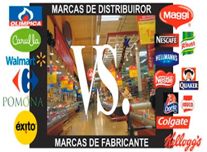 diferencias marcas fabricante y distribuidor