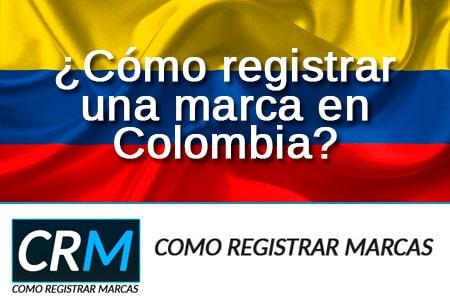 como registrar marca en Colombia