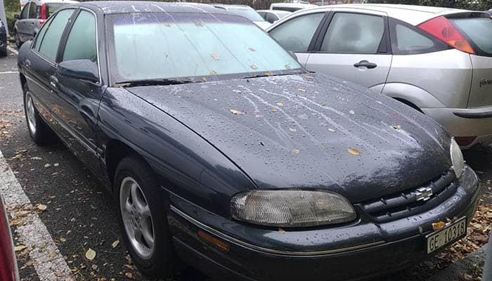 Coche de la marca Chevrolet