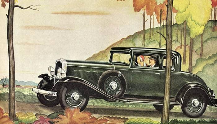Marca de coche americano Oldsmobile