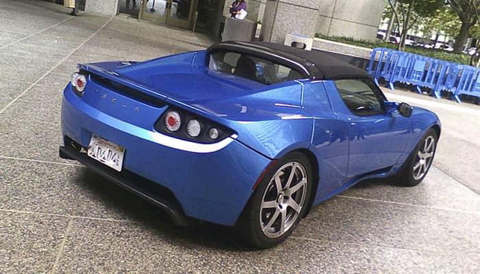 Coche de la marca Tesla