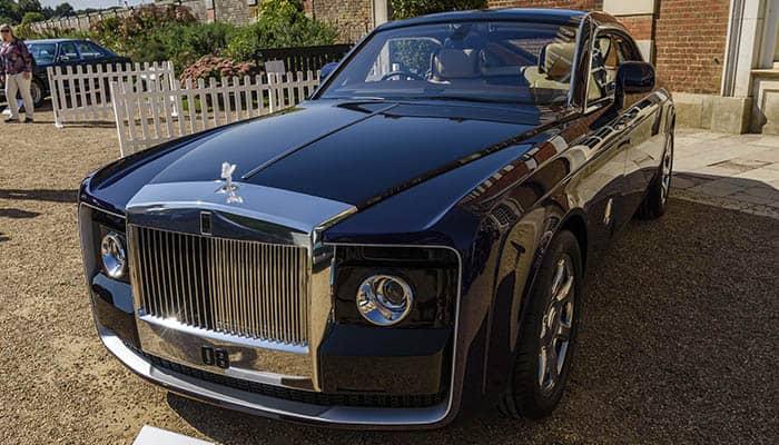 Marcas de coches de lujo: Rolls Royce