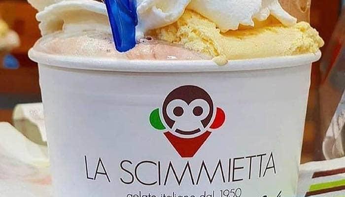 Marcas de helados: La Scimmietta