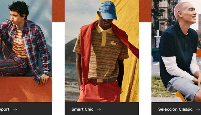 Marcas de ropa francesas para hombre: Lacoste