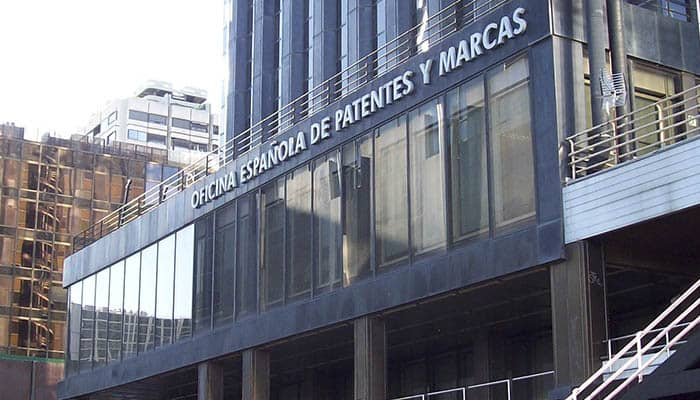 Edificio de la Oficina Española de Patentes y Marcas.