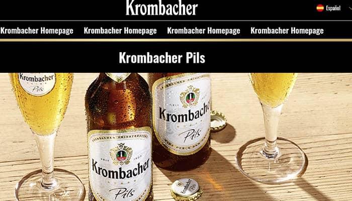 Marcas de cerveza alemana: Krombacher
