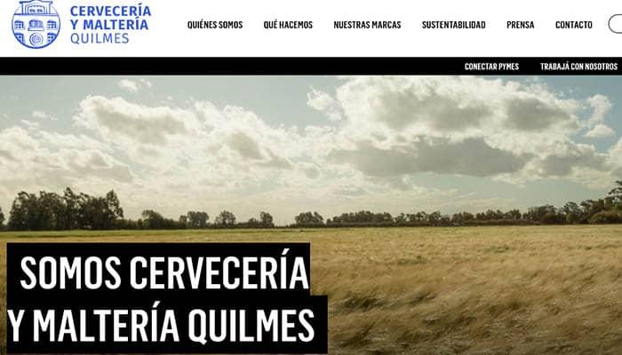 Marcas de cerveza argentinas: Quilmes