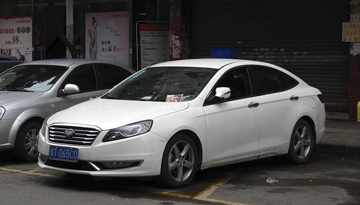 Marcas de coches chinos: First Automobile Works