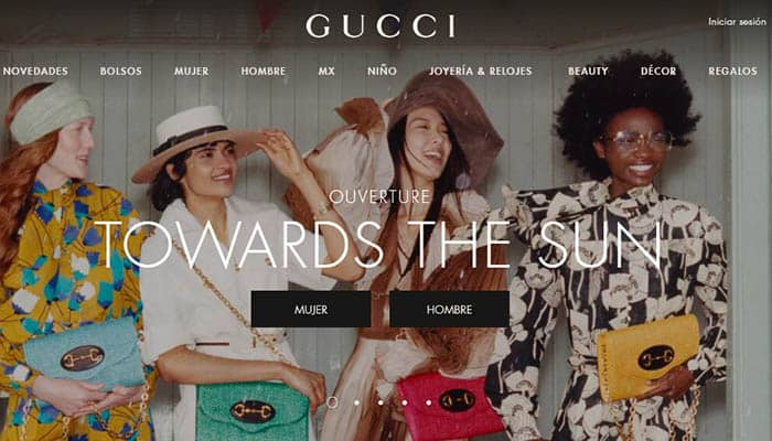 Marcas de ropa caras: Gucci