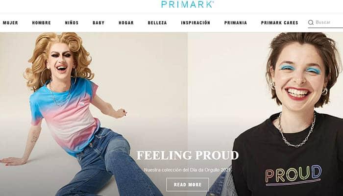 Marcas de ropa de mujer: Primark