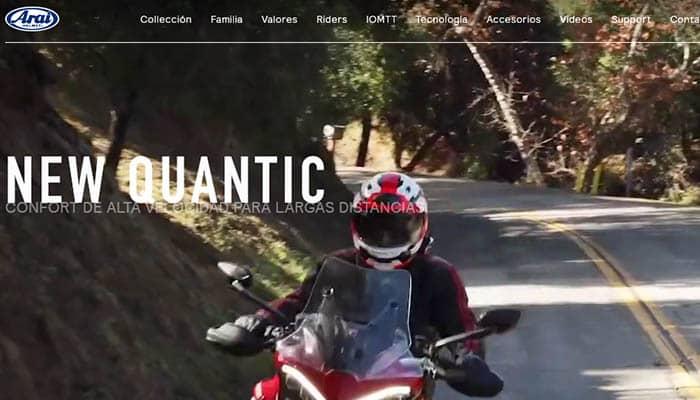 Marcas de cascos de moto: Arai