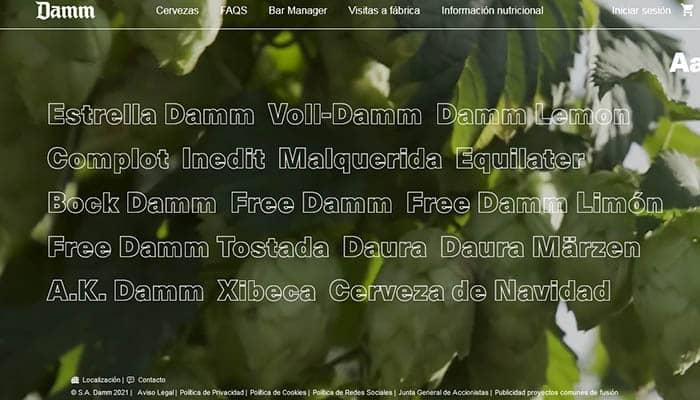 Marcas de cerveza españolas: Damm