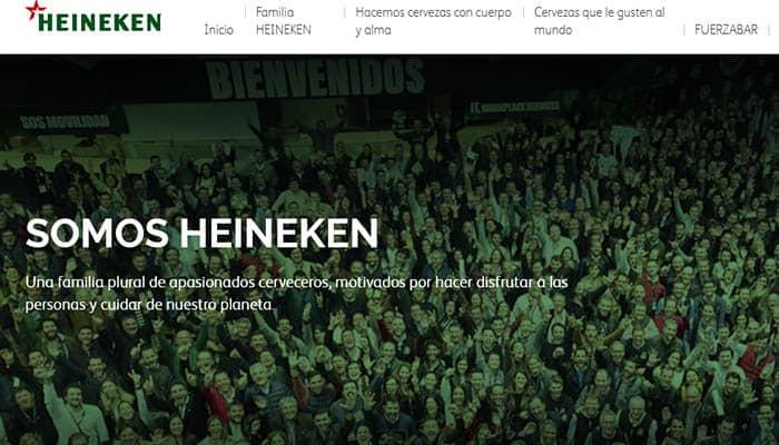 Marcas de cerveza españolas: Heineken España