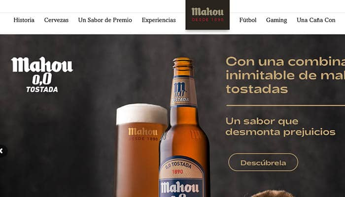 Marcas de cerveza españolas: Mahou