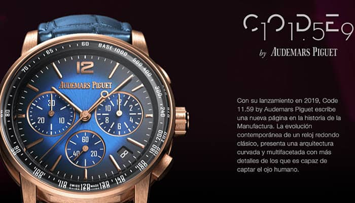Marcas de relojes de hombre: Audemars Piguet