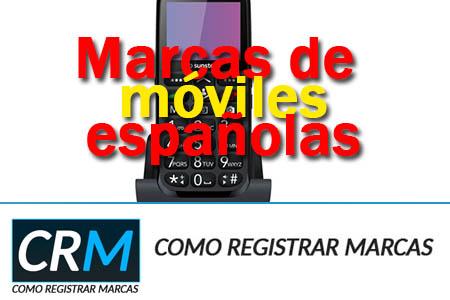 Marcas de móviles españolas
