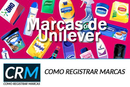 Marcas de Unilever